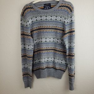 American Eagle Outfitters Gray Sweater Size M